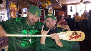 Ryan Week 2 Loyalty Club winner. A  autographed Jake Leinenkugel Paddle.